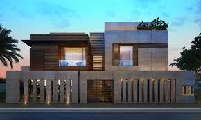 1000 M Private Villa Aldahya Kuwait Sarah Sadeq Architects Facade House Compound Wall Design Villa Design