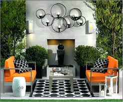 patio decorating outdoor large wall art