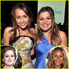 Kelly Clarkson & Miley Cyrus: VH1 Divas | Adele, Kelly Clarkson, Leona  Lewis, Miley Cyrus | Just Jared