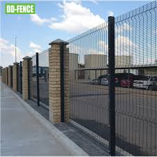 China Best Quality 358 High Security Anti Climb Prison Fence And Gate System For Car Parking Boundary Security Photos Pictures Made In China Com