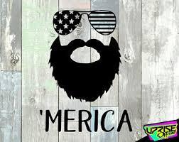 Funny Beard Decal Etsy