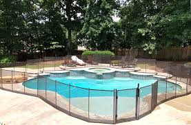 This 4 Ft Pool Fence In Dark Brown Is Protect A Child Pool Fence Facebook