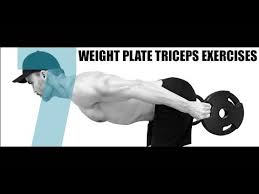 7 weight plate triceps exercises you