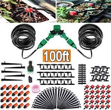 100ft 30m garden irrigation kit diy