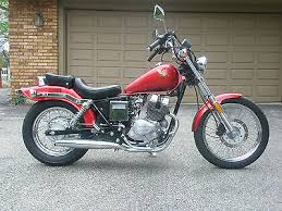 1985 honda 250 rebel motorcycles