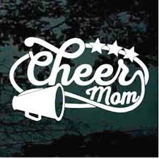 Cheerleading Car Decals Stickers Decal Junky