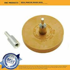 Car Decal Remover 3m Eraser Wheel For Remove Glue Adhesive Sticker Pinstripe Ebay
