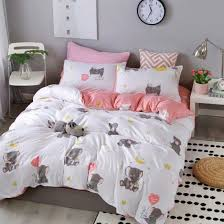 comforter cartoon bed sheets polyester