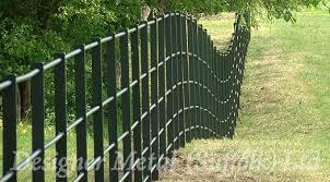 Estate Fencing Curves And Contours Designer Metal