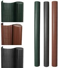 1 3m 2 3m Pvc Garden Screen Fence Privacy Fencing Screening Clip Covers Optional Ebay
