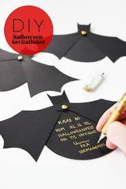 Diy Halloween Invitation Blog Bog Ide Fodselsdag