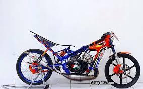 foto sepeda motor drag race pecinta