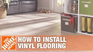 how to install vinyl flooring the