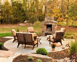 patio designs with fireplace delightful