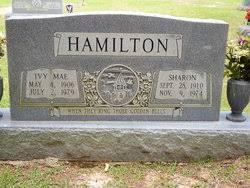 "Ivory Mae ""Ivy"" Stewart Hamilton (1906-1979) - Find A Grave Memorial"
