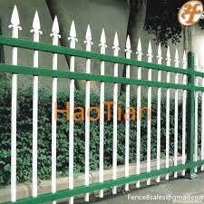 Arrow Top Ornamental Tubular Garden Security Lattice Fence Buy Lattice Fence Ornamental Garden Fence White Tubular Fence Product On Alibaba Com
