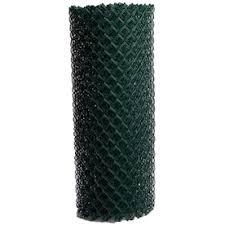 4 Ft H X 10 Ft L 9 Gauge Galvanized Steel Chain Link Fence Fabric In The Chain Link Fence Fabric Department At Lowes Com