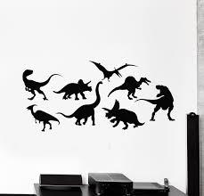 Vinyl Wall Decal Dinosaurs Predators Animals Boys Kids Room Stickers M Wallstickers4you