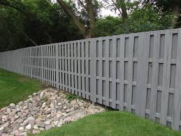 Endwood Shadowbox Fence With Postmaster Steel Fence Post System Landscape Dallas By Master Halco Inc