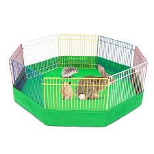 8 Panel Foldable Pet Dog Fence Small Animal Cage Indoor Small Animal Cage Small Pets Pet Cage