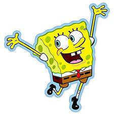 Amazon Com Spongebob Squarepants Vynil Car Sticker Decal Select Size Arts Crafts Sewing