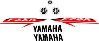yamaha fz 6r logos decals stickers and
