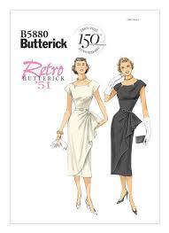 B5880 | Patrones de costura vintage, Patrones de costura, Estilo 50