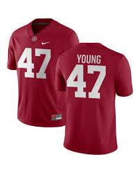 Alabama Crimson Tide Byron Young Football Jersey, Byron Young ...