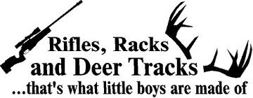 Rifles Racks And Deer Tracks Thats What Little Boys Are Made Of Wall Decal Vinyl Lettering Words Quote Home Decor Kids Room Boys With Rifle 10x26 Wall Stickers Murals