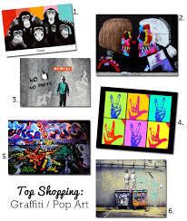 Top Shopping Picks Graffiti Pop Art