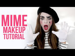 easy mime makeup tutorial for s
