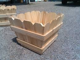 Cedar Fence Picket Planter Boxes By Kirbi69 Lumberjocks Com Woodworking Community