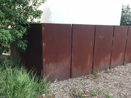 Corten Steel Designs And Engineering Use Of Steel In Melbourne Australia Part 6 How Australians Construct Their Weathering Steel Fences