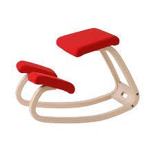 VARIABLE BALANCE CHAIR NATURAL/RED サイドチェア   THE CONRAN SHOP(コンランショップ)   THE CONRAN SHOP
