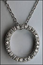 circle of life diamond pendant 64ct