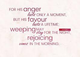 Psalm 30:5 | re-Ver(sing) Verses