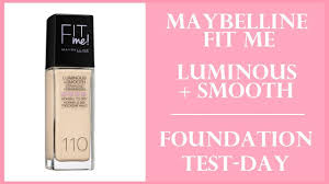 maybelline fit me luminous smooth
