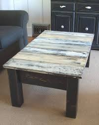 diy antique pallet coffee table makeover