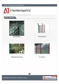 A 1 Fence Products Company Pvt Ltd Mumbai Fish Hook Blade