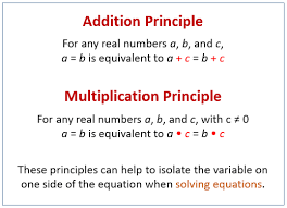 solving one step equations examples