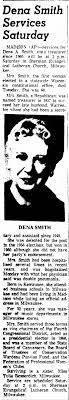 Dena Smith (1899-1968) - Newspapers.com