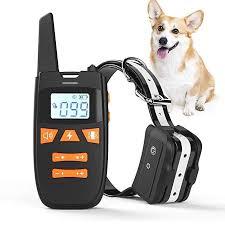 Haliluya Dog Training Collar Rechargeable Dog Shock Collar With Remote 3 Training Modes Beep Vibratio Dog Shock Collar Dog Training Collar Training Collar