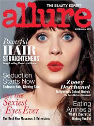 zooey s february allure makeup