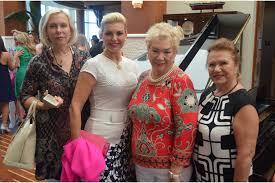 Lilly Luncheon brings vibrance to Sarasota Yacht Club - Olga Smith, Inna  Snyder, Zina Sidorina and Mila Gamburd   Your Observer