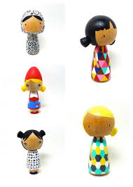 Gorgeous handmade toys by Abby Jacobs