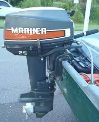 25 hp mercury mariner outboard boat