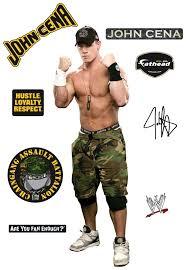 John Cena Studio Fathead Wwe Wrestling Wall Graphic