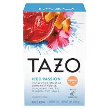 iced pion tazo tea