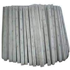 Cement Concrete Fencing Pole Dimension 4 X 4 X 7 Feet Rs 145 Running Feet Id 19198554630
