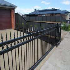 High Quality Composite 5ft Wrought Iorn Fence Panel Buy Wrought Iron Fence Panels 5ft Wrought Iorn Fence Panel Decorative Fence Panels Product On Alibaba Com